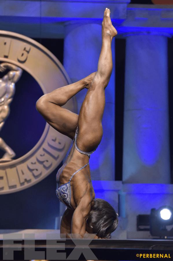 Gillian Ward - Women's Physique International - 2016 Arnold Classic