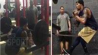 Baller Shot in Head Bounces Back at Gym