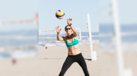 Kerri Walsh Trains for her Fourth Olympic Games
