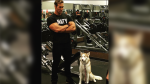 Mike O'Hearn's Dog Is Hard to Impress
