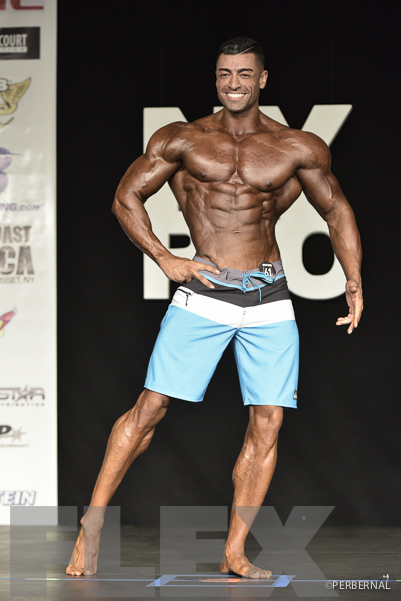 Alcides Vera lll - Men's Physique - 2016 IFBB New York Pro