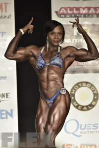 Antoinette Downie - Women's Physique - 2016 IFBB New York Pro