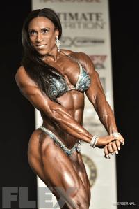 Asha Hadley - Women's Physique - 2016 IFBB New York Pro