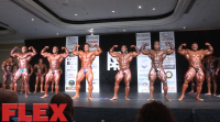 2016 IFBB NY Pro Pre-Judging Open Bodybuilding Call Outs