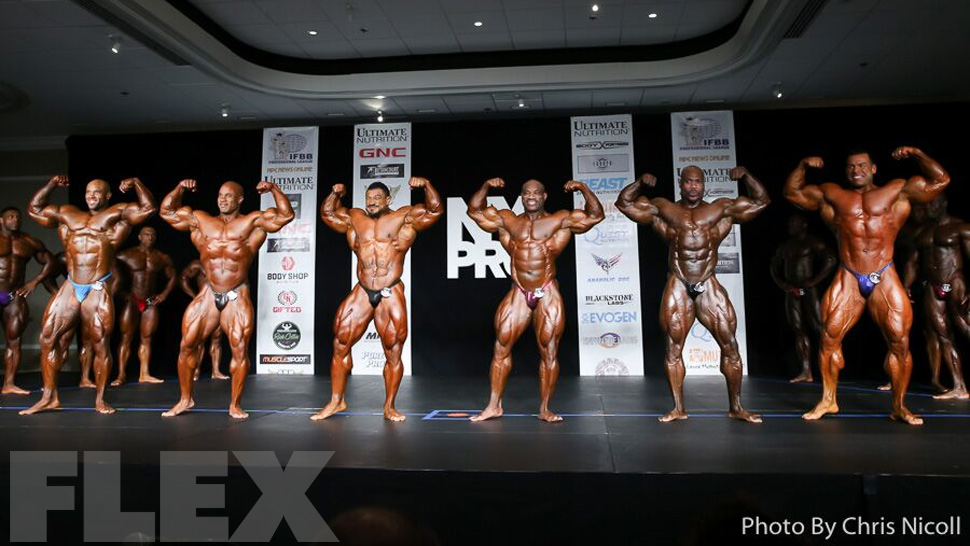 2016 IFBB New York Pro Bodybuilding Call Out Report