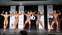 2016 IFBB New York Pro Women's Physique Call Out Report