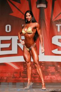 Angie Garcia - Bikini - 2016 IFBB Toronto Pro Supershow