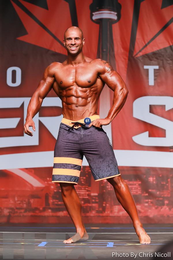 Chris McGowan - Men's Physique - 2016 IFBB Toronto Pro Supershow