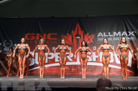 Figure Comparisons - 2016 IFBB Toronto Pro Supershow