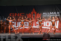 Women's Physique Comparisons - 2016 IFBB Toronto Pro Supershow