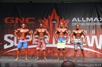 Men's Physique Comparisons - 2016 IFBB Toronto Pro Supershow