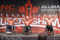 Wheelchair Comparisons - 2016 IFBB Toronto Pro Supershow