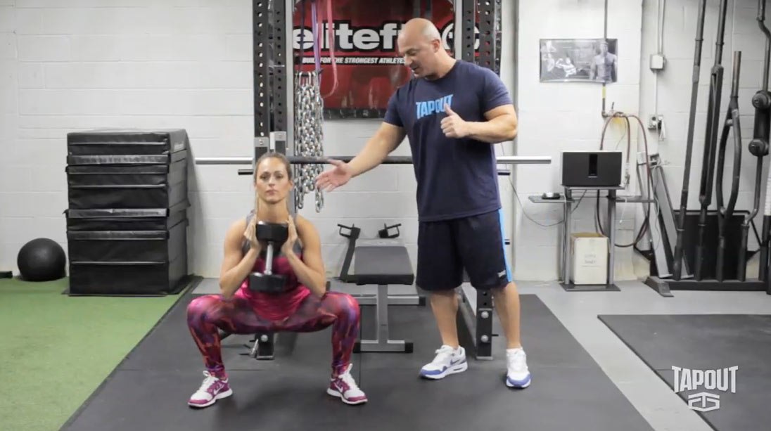 Tapout Training Series Tip of the Day - Tuesday: Lower Body Training