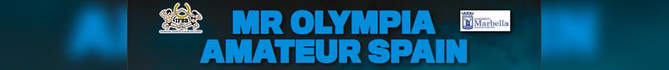 2016 Olympia Amateur Spain