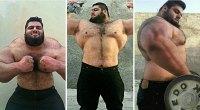 Massive Bodybuilder Dubbed 'Iranian Hulk'