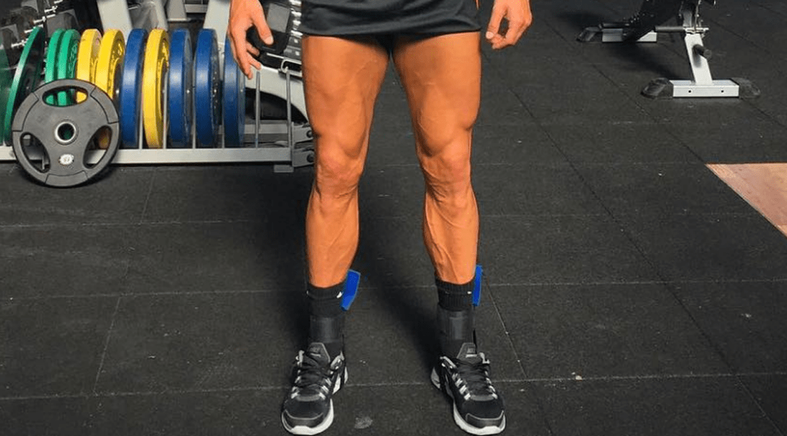 Cristiano Ronaldo Shows Off His Shredded Legs Muscle Fitness