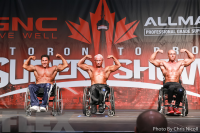 2016 IFBB Toronto Pro: Wheelchair Bodybuilding Call Out Report