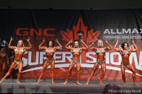 2016 IFBB Toronto Pro: Women's Physique Call Out Report
