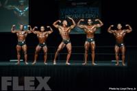 2016 IFBB Vancouver Pro: Classic Physique Comparisons