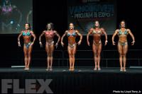 2016 IFBB Vancouver Pro: Fitness Comparisons
