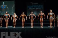 2016 IFBB Vancouver Pro: Figure Comparisons