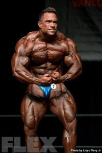 2016 IFBB Vancouver Pro: Open Bodybuilding - Paulo Almeida