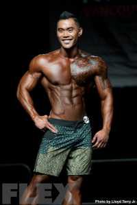 2016 IFBB Vancouver Pro: Men's Physique - Jake Alvarez