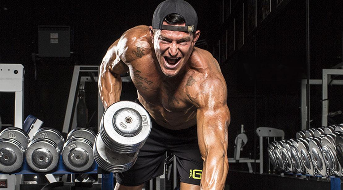The Steve Weatherford ARMageddon Arm Workout