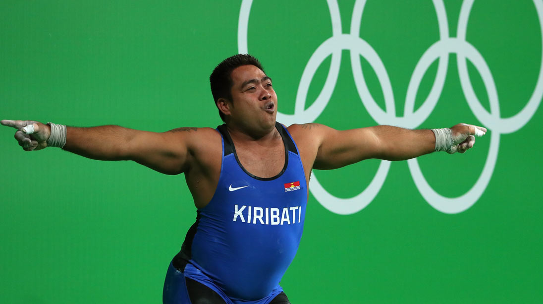 Olympic Weightlifter Dances for Climate Change