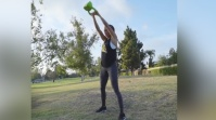 Paige Hathaway's Fit in Five Kettlebell Workout