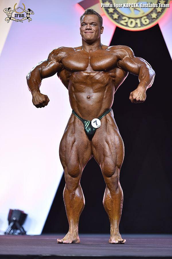Dallas McCarver - Open Bodybuilding - 2016 Arnold Classic Europe