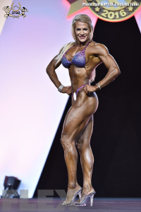 Whitney Jones - Fitness - 2016 Arnold Classic Europe
