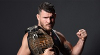 Michael Bisping with belt
