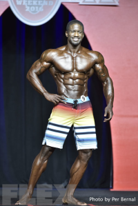 George Brown - Men's Physique - 2016 Olympia