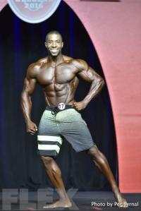 Patrick Fulgham - Men's Physique - 2016 Olympia