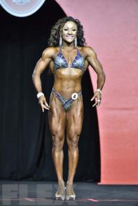 Tanji Johnson - Fitness - 2016 Olympia