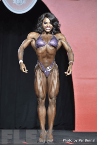 Cydney Gillon - Figure - 2016 Olympia