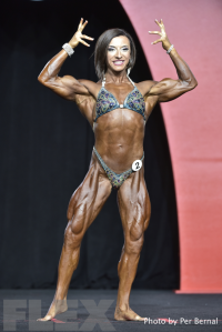 Michaela Aycock - Women's Physique - 2016 Olympia