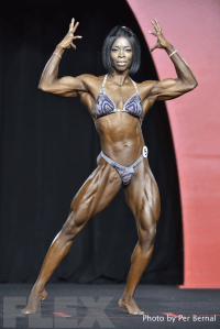 Dianne Brown - Women's Physique - 2016 Olympia