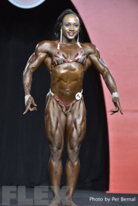 Antoinette Downie - Women's Physique - 2016 Olympia
