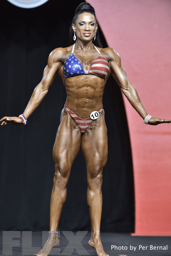 Jessica Gaines - Women's Physique - 2016 Olympia