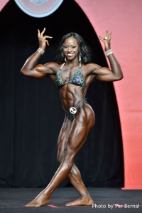 Sheronica Henton - Women's Physique - 2016 Olympia