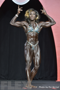 Candrea Judd-Adams - Women's Physique - 2016 Olympia