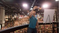 The Rock Makes an Epic Appearance at the Olympia Expo