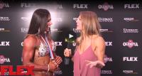 3X Fitness Olympia Champion, Oksana Grishina