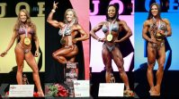 Check out all the Women's Winners from the Olympia weekend