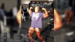 Phil Heath Backstage at the 2016 Olympia