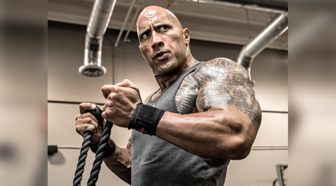 The Rock Tried to Rip Guy's Tongue Out
