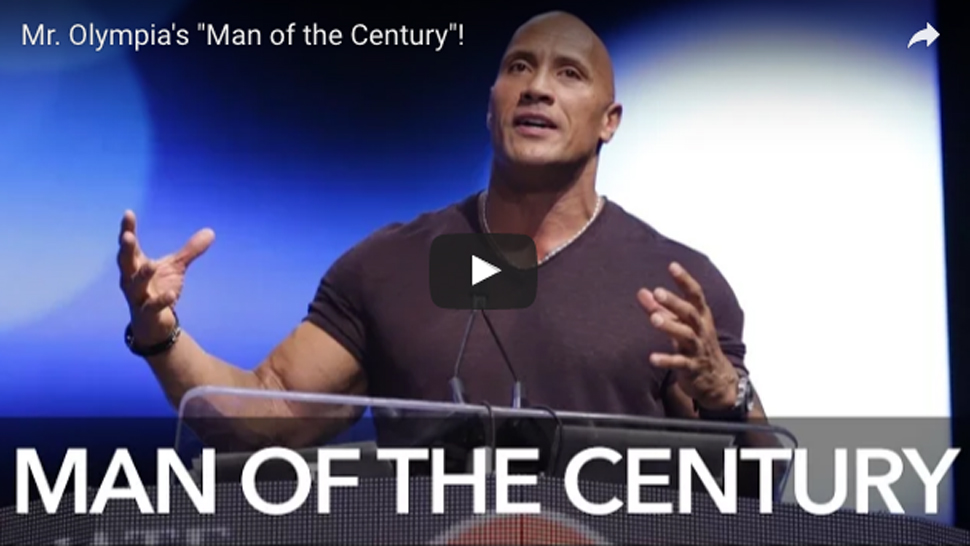 The Rock's Inspirational Speech at the 2016 Olympia