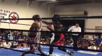 Amateur Boxer Ahmad Jones Records Hellacious KO